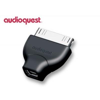 AUDIOQUEST MINI USB ADAPTOR ADATTATORE IPAD IPHONE 4 E 4S GARANZIA UFFICIALE