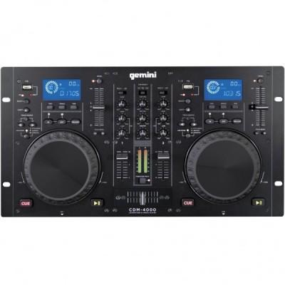 GEMINI CDM 4000 CONSOLLE DJ LETTORE CD USB PER DJ NUOVO GARANZIA UFFICIALE
