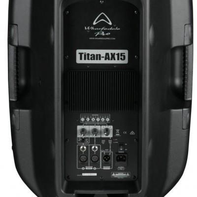 WHARFEDALE PRO TITAN AX 15 ACTIVE DIFFUSORE BI-AMPLIFICATO GARANZIA UFFICIALE