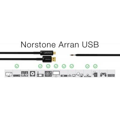 NORSTONE ARRAN USB CAVO USB A/B GARANZIA UFFICIALE