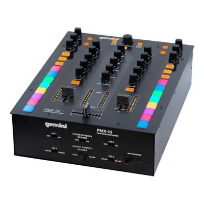 GEMINI PMX 10 MIXER STEREO DJ 2 CANALI NUOVO GARANZIA UFFICIALE