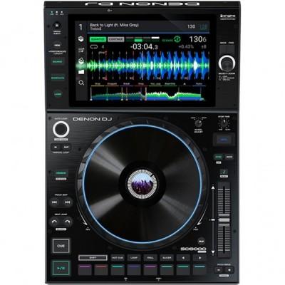 DENON DJ SC 6000 PRIME MEDIA PLAYER TABLE TOP GARANZIA UFFICIALE