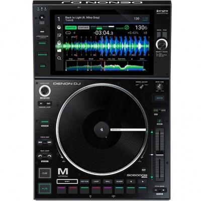 DENON DJ SC 6000 M PRIME MEDIA PLAYER CON PIATTO MOTORIZZATO GARANZIA UFFICIALE