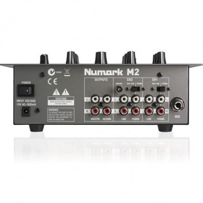 NUMARK M 2 BLACK DJ MIXER A 2 CANALI GARANZIA UFFICIALE