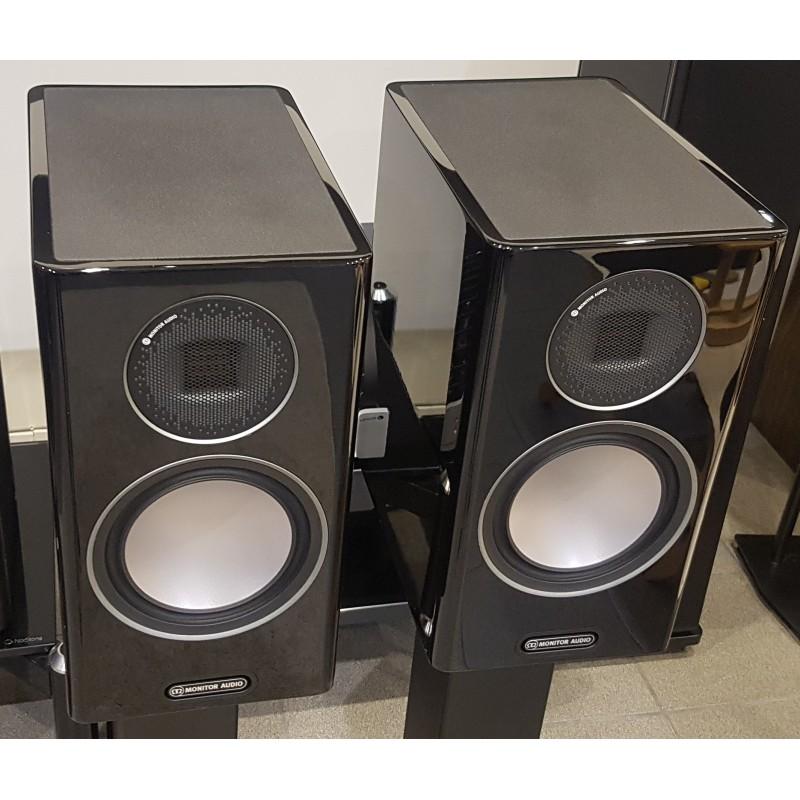 MONITOR AUDIO GOLD 100 5G BLACK GLOSS COPPIA DIFFUSORI DA LIBRERIA GARANZIA UFFICIALE
